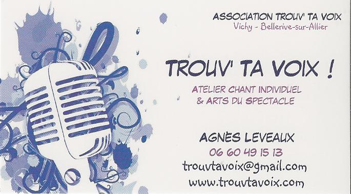 Carte de visite Trouv' Ta Voix